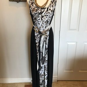 Calvin Klein size XL maxi dress  different ways